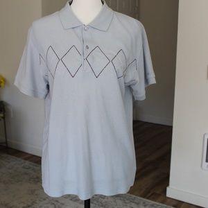 Vintage Ben Sherman Argyle Polo Shirt